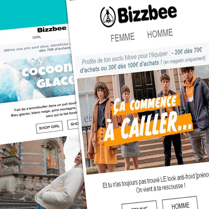 Une réalisation Boost communication : newsletter Bizzbee